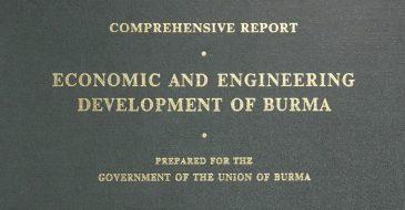 Economic and Engineering Development of Burma, 1953