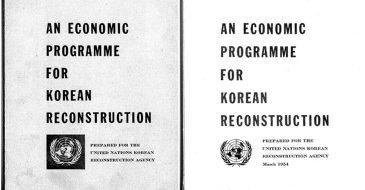 An Economic Programme for Korean Reconstruction, 1954
