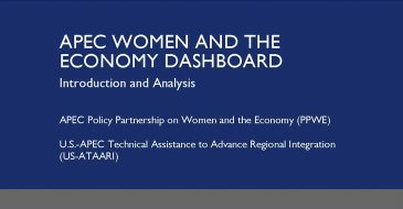 APEC Women and The Economy Dashboard: Introduction and Analysis