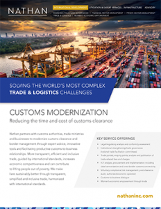 Customs Modernization