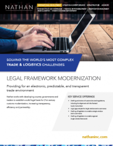 Legal Framework Modernization