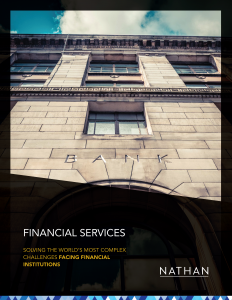 Financial Services: Solving the World's Most Complex Challenges Facing Financial Institutions