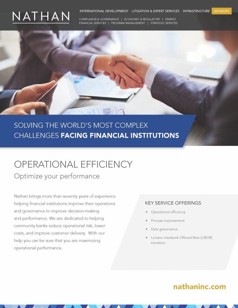 Operational Efficiency - Nathan