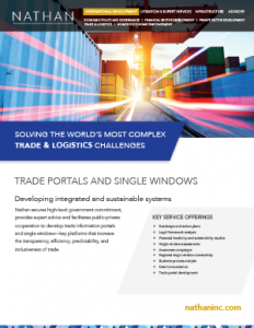 Trade Portals & Single Windows
