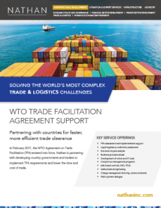 WTO Trade Facilitation Agreement Support