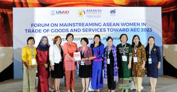 ASEAN Women Gain Expanded Economic Policy Voice