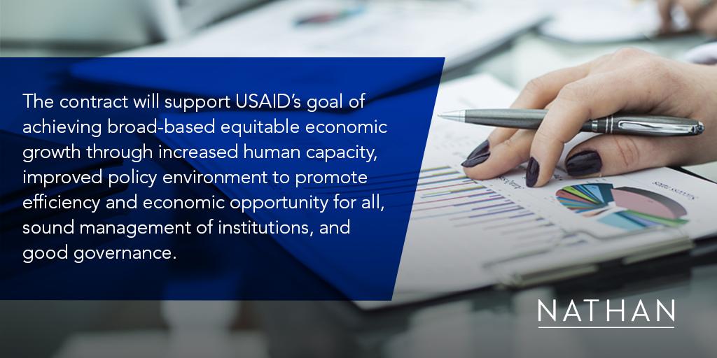Nathan Awarded USAID Public Financial Management (PFM) II IDIQ