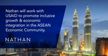 Nathan to Implement USAID ASEAN Economic Growth Program