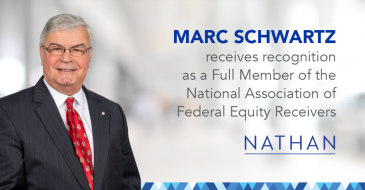 Nathan's Marc Schwartz Recognized as NAFER Full Member