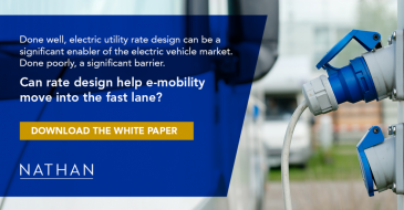 Done well, electric utility rate design can be a significant enabler of the electric vehicle market. Done poorly, a significant barrier. Can rate design help e-mobility move into the fast lane? Download the white paper.
