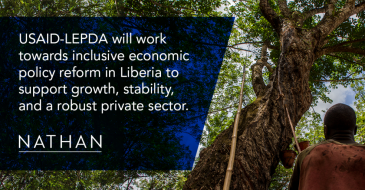 USAID-LEPDA will work towards inclusive economic policy reform in Liberia to support growth, stability, and a robust private sector.