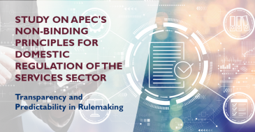 Study on APEC's Non-Binding Principles for Domestic Regulation of the Services Sector