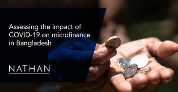 Assessing the impact of COVID-19 on microfinance in Bangladesh