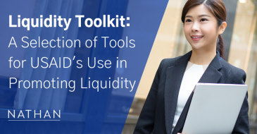 Liquidity Toolkit: A Selection of Tools for USAID's Use in Promoting Liquidity