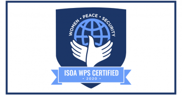 Nathan Achieves ISOA Women, Peace, and Security (WPS) Certification