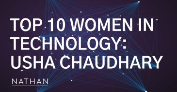 Nathan Board Member, Usha Chaudhary, Named Among Top 10 Women in Technology