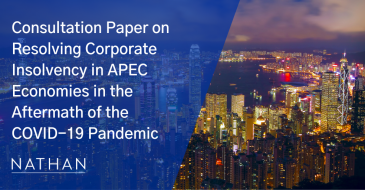Consultation Paper on Resolving Corporate Insolvency in APEC Economies in the Aftermath of the COVID-19 Pandemic