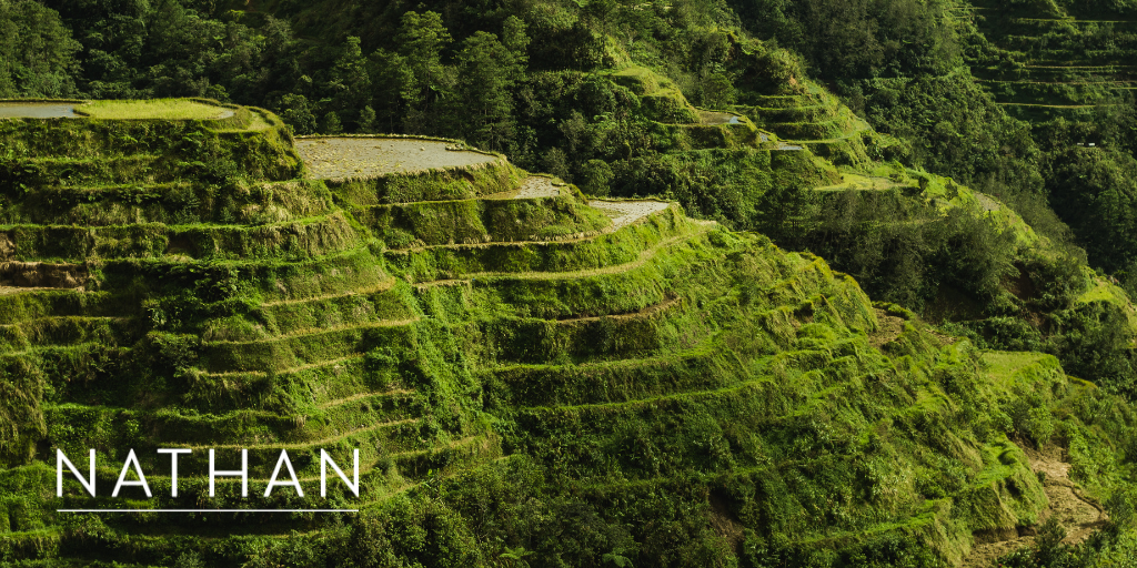 Nathan BEACON Win Graphic - Rice Terraces